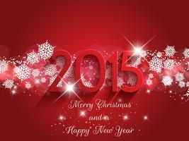 Fond de Noël et du nouvel an