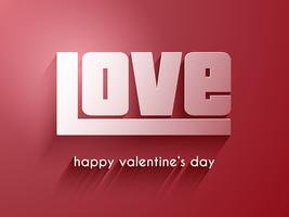 Alla hjärtans dag kärleksbakgrund
