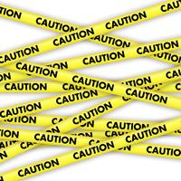 Caution tape  vector