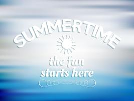 Summer quote background