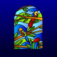 Stain Glass Vector