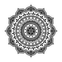 vector de henna