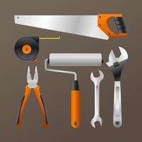 Tools Realistic Vector