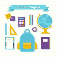 Schulbedarf Vektor