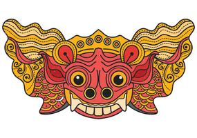 masque de balong de barong