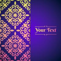 Elegant Background With Lace Ornament And Place For Text