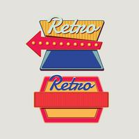 Retro Signs Template Set