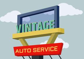 Vintage Signs Vector Illustration