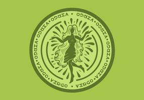 badge du zodiaque virgo