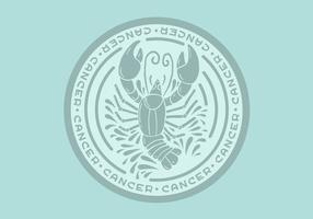 cancer zodiac badge