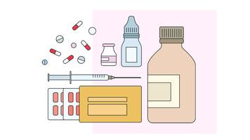 Pharmacy Drugs Vector