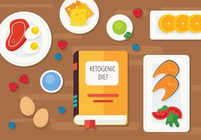 Ketogenic Diet Illustration