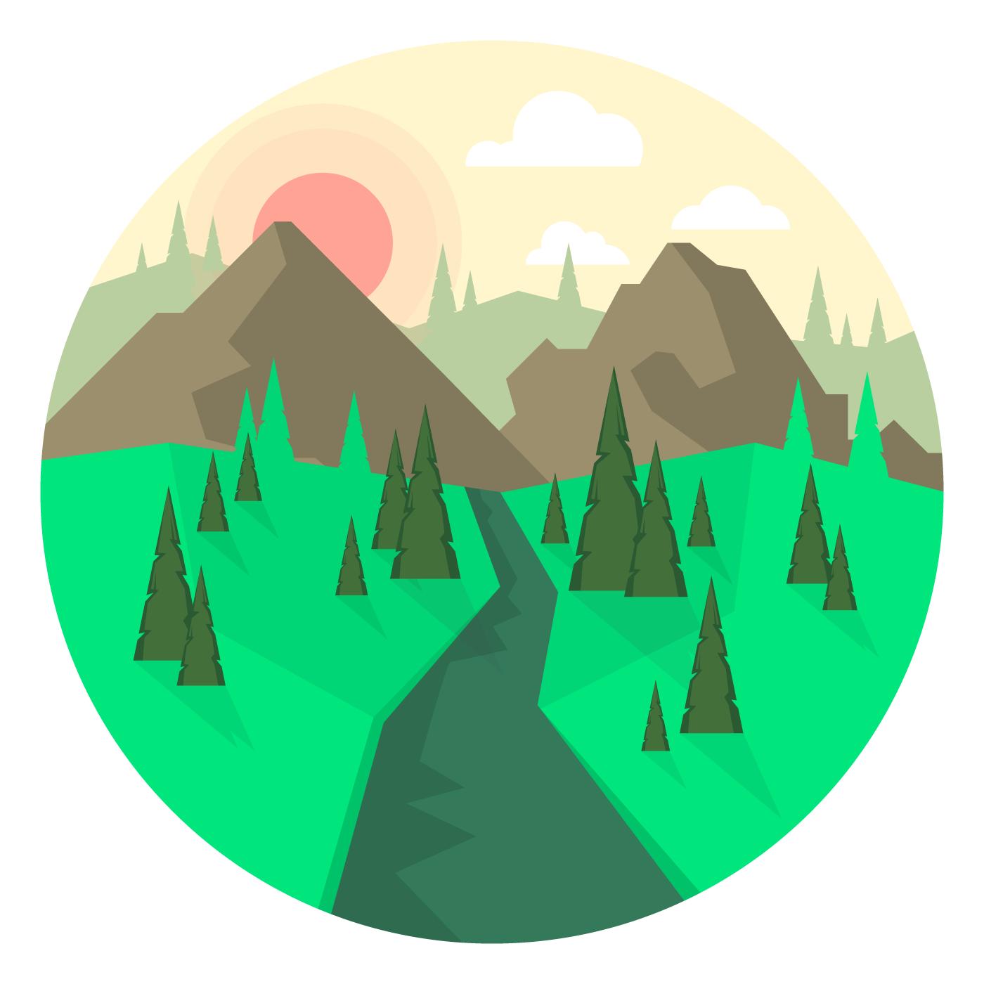 Landscape Design Download Free Vectors Clipart Graphics Vector Art,Pink Baby Shower Nail Designs