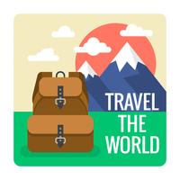 Paisaje de viajes