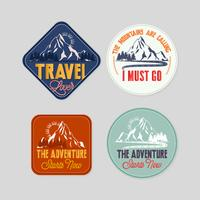 Vector Travel Stickers