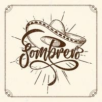 Sombrero illustratie