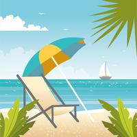 Vector Beautiful Summer Illustration
