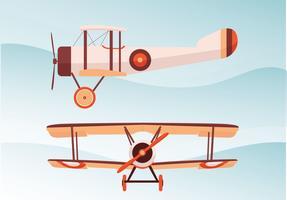 Biplane Vector Pack