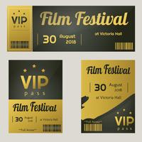 VIP Access Template Vector Pack