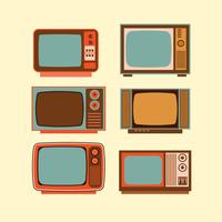 Old Television Set vector
