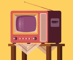 Retro TV-set
