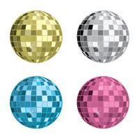 Partido Vector Disco Ball