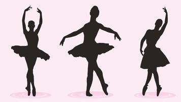 vector de bailarina