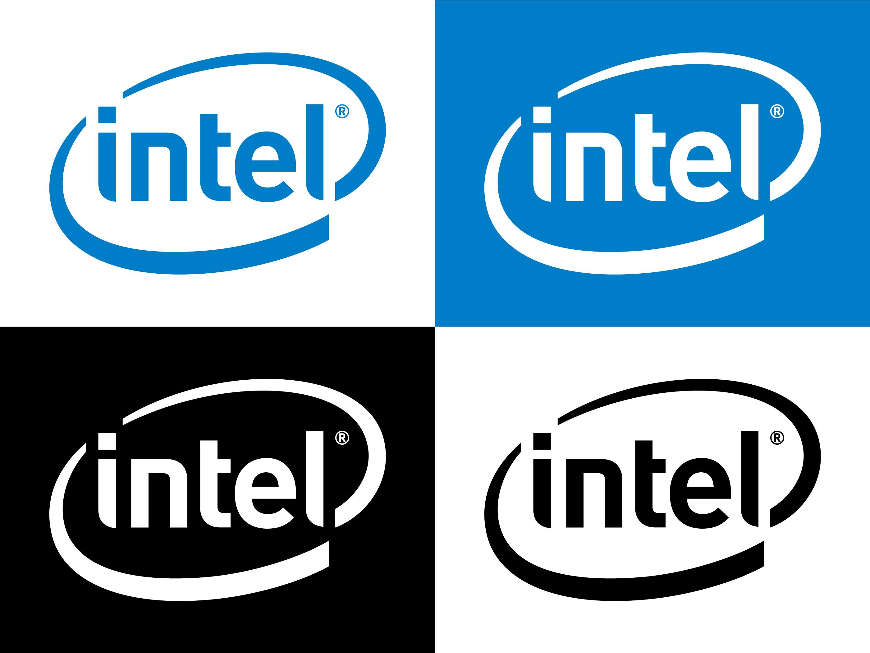 Intel Logo Vector Download Free Vectors Clipart Graphics Vector Art