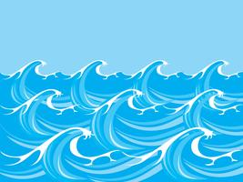 Ocean/ Sea Waves Vector