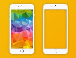Vector iPhone 6 Blanco