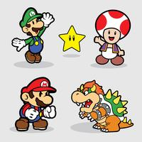Super Mario Vector Pack