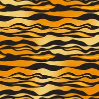 Tiger Pattern Vector
