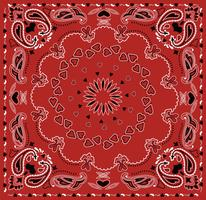 Bandana Heart Vector Pattern