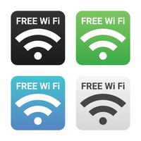 Gratuit Wi Fi Vector Icon