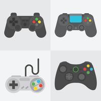 Spiel-Controller-Vektor