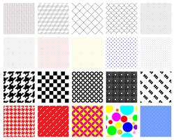 Swatch Patterns vector
