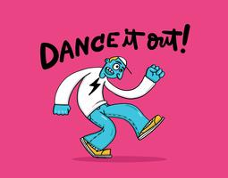 gars dansant