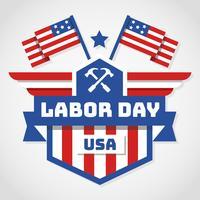 Labor Day USA Vector