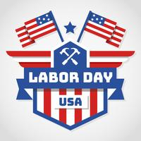Labor Day USA Vector