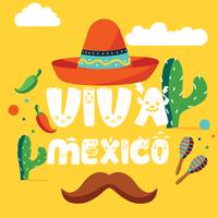 Viva Mexico Vector Design