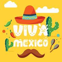 Viva Mexico Vector Design