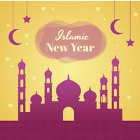 Islamic New Year Vector