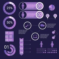 Ultraviolett Infographic Elements