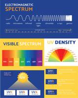 Utraviolet Infographic Vector
