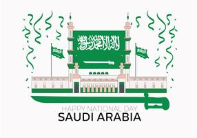 Saudi National Day Vektor