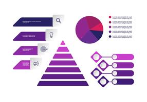 Ultraviolett Infographic Elements Vector