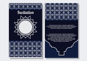 Islamic Style Invitation Template