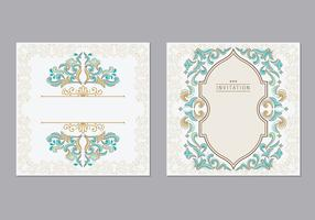Greeting Card or Invitation Islamic Style vector