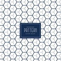 elegant hexagonal 3d kub stil mönster bakgrund
