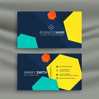 modern stylish business card template